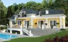Традиционный дом с современным дизайном