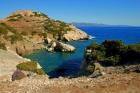Кемпинг в прибрежной зоне на Крите