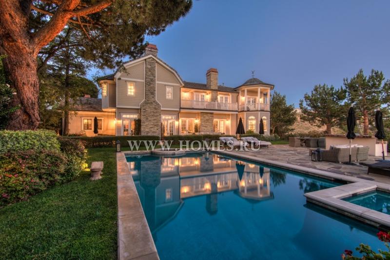 Изумительный особняк в Лос-Анджелесе