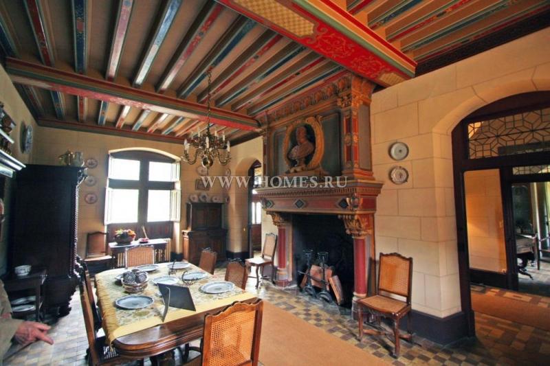 Очаровательный замок в долине Луары