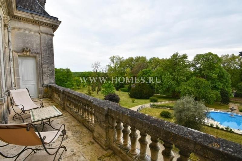 Восхитительный замок в Шаранте, Коньяк