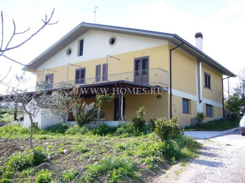 Новый дом неподалеку от Пескары