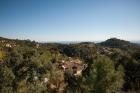 Прекрасная вилла с панорамным видом на море и горы