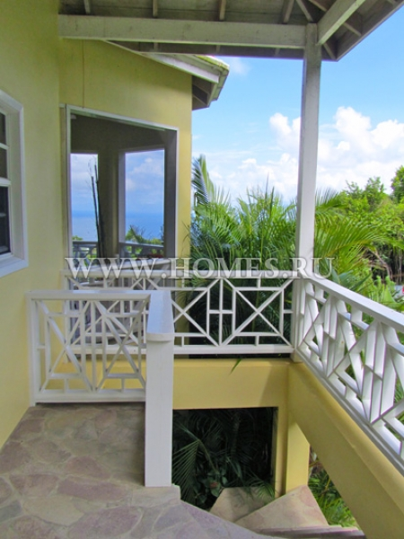 Современная вилла на Невисе