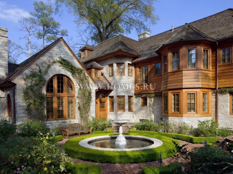 Удивительный дом в Хьюстоне