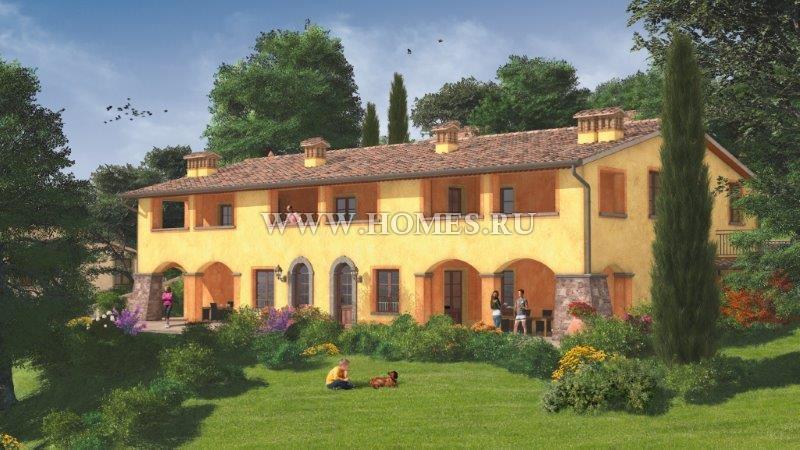 Новые виллы в Тоскане