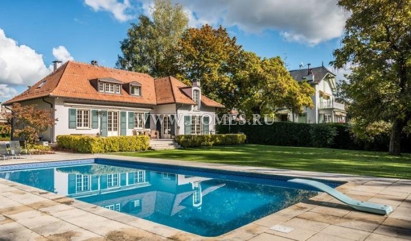 Чудесный дом в Женеве