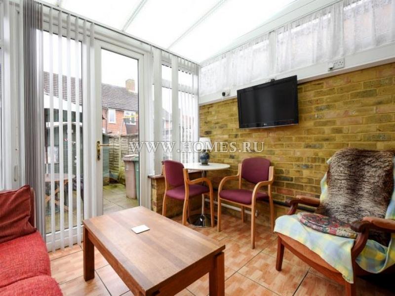 Комфортный террасный дом в Лондоне