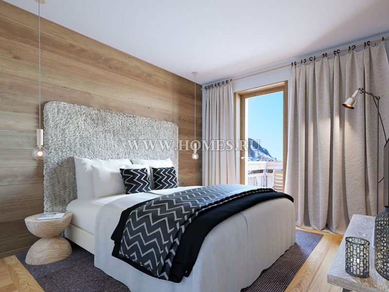 Роскошный апартамент в Межеве