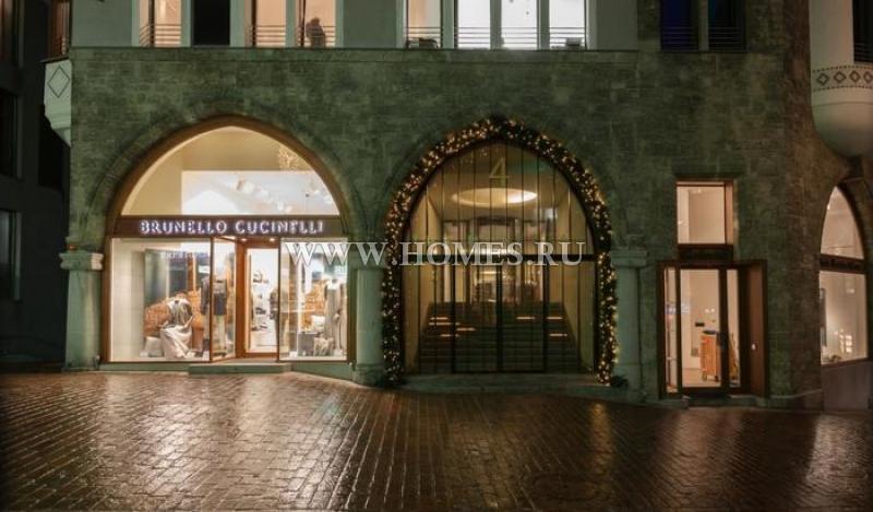Уникальные апартаменты в Санкт-Морице