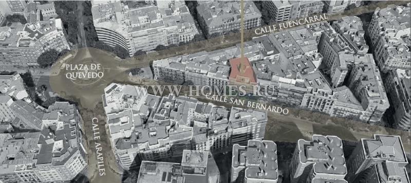Превосходное здание в центре Мадрида