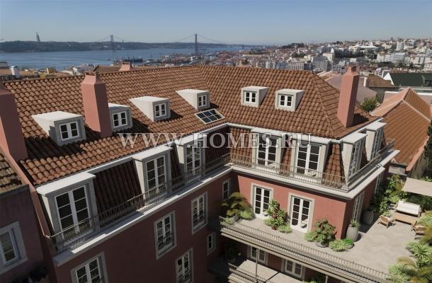 Роскошный дуплекс в Лиссабоне