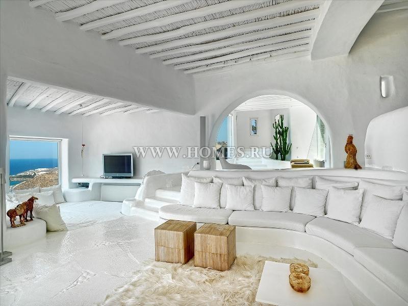 Величественная вилла в Миконосе