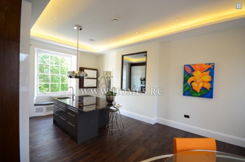 Красивые апартаменты в Лондоне