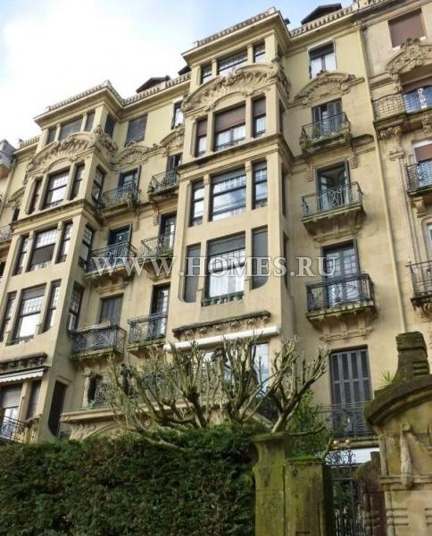 Красивая квартира в центре Сан-Себастьяна