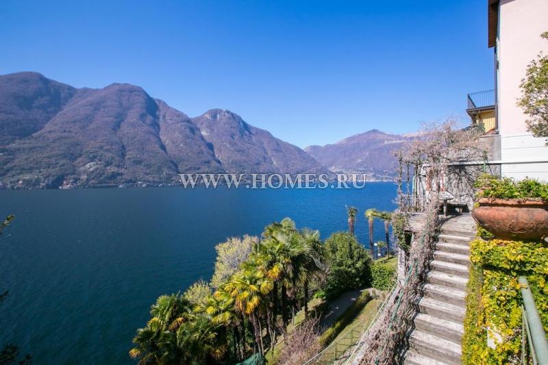 Озеро Комо, красивые апартаменты в исторической вилле 15 века
