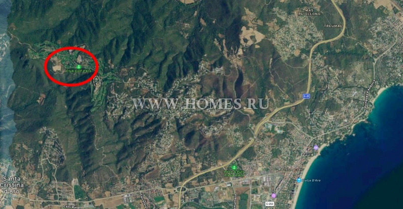 Усадьба под реконструкцию на побережье Коста Брава