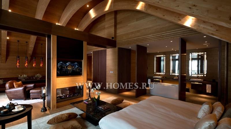 Роскошные апартаменты в Андерматте
