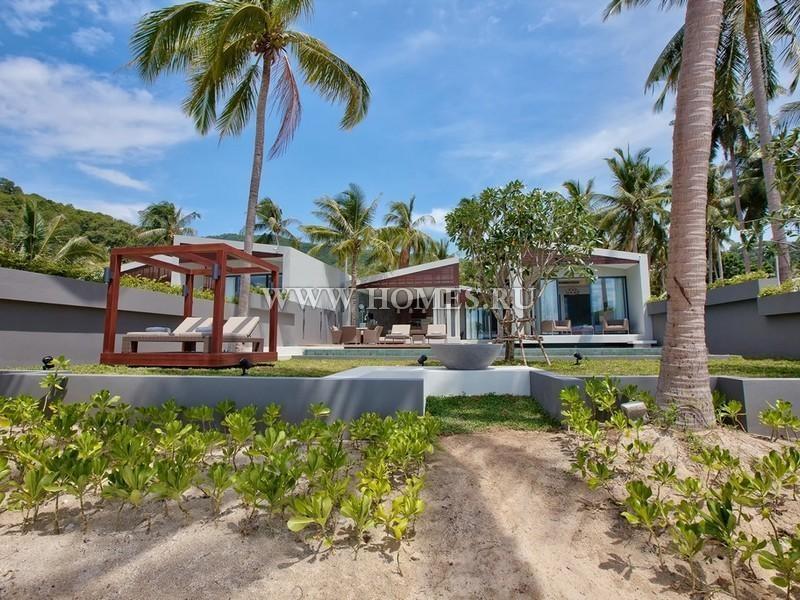Современные виллы на острове Самуи