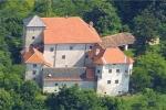 Впечатляющий замок в городе Загреб