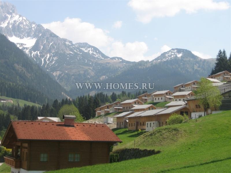 Прекрасное шале в Альпах
