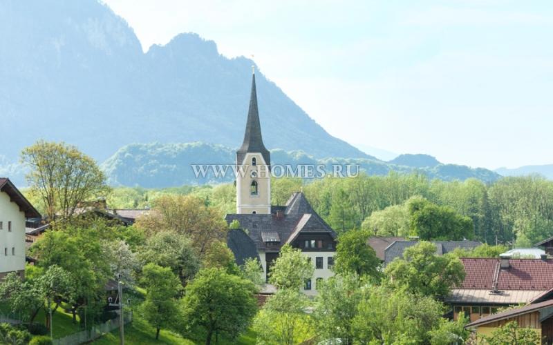 Чудесная вилла неподалеку от Зальцбурга