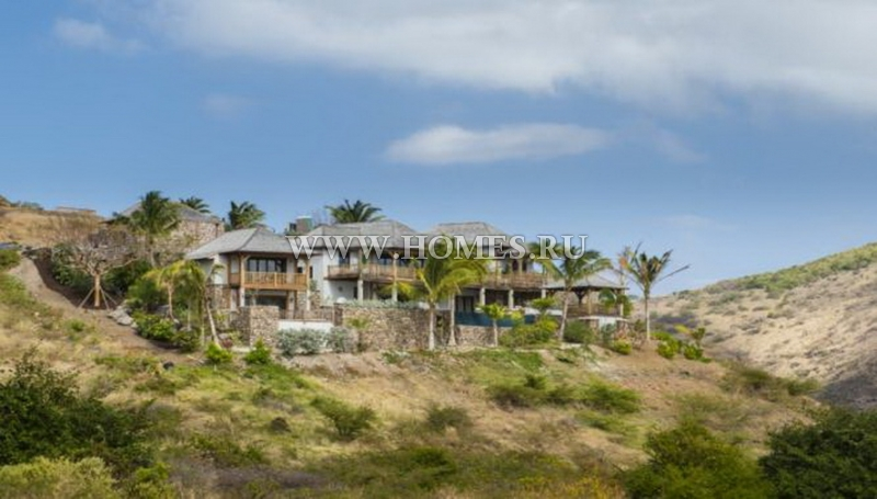 Современная вилла  на острове Сент-Китс