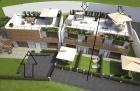 Дзамброне, современный апартамент в строящемся комплексе