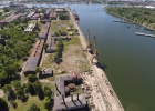 Участок земли в порту Лиепая