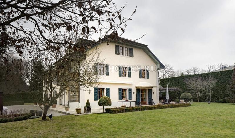 Восхитительный дом в центре Женевы