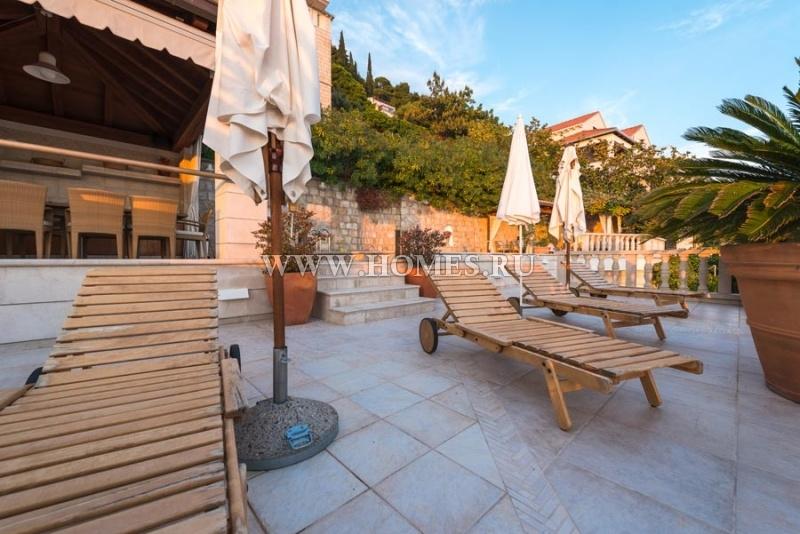 Элегантная каменная вилла в Дубровнике