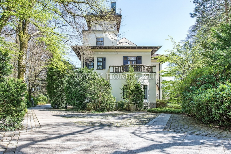 Элегантный особняк в Мюнхене