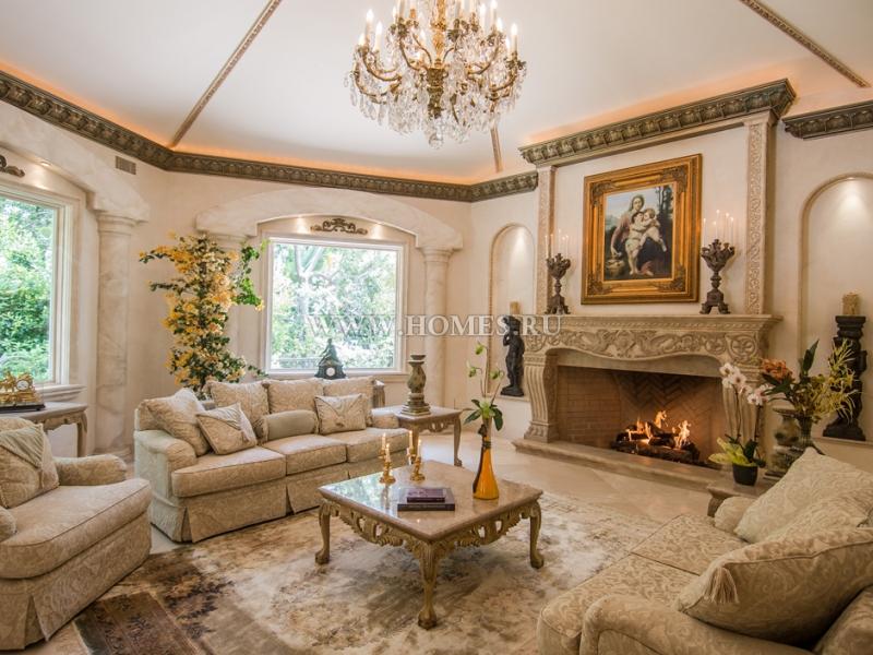 Великолепный особняк в Беверли Хиллз