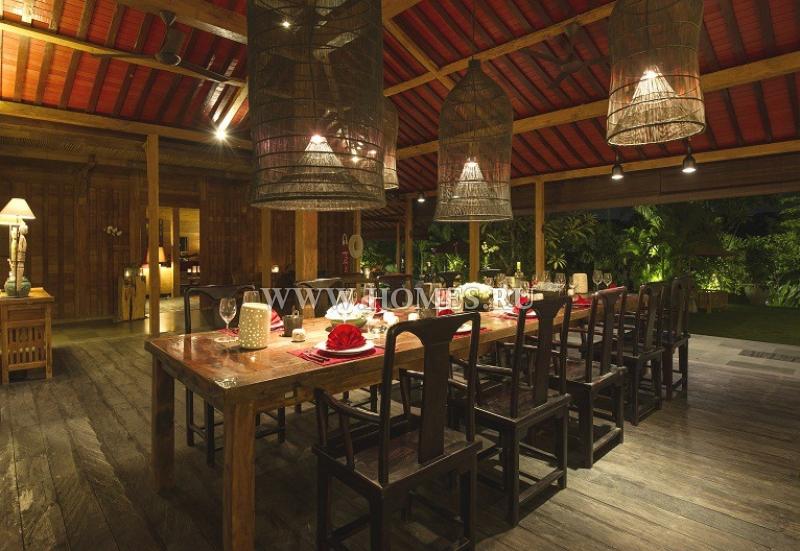 Шикарная вилла на Бали