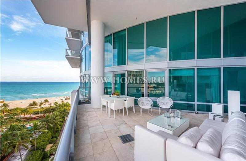 Стильная квартира в Майами-Бич