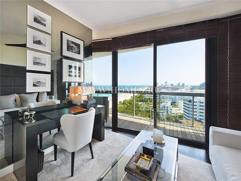 Дизайнерская квартира в Майами-Бич