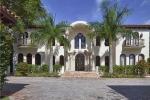 Роскошный особняк на престижном острове в Майами, Флорида