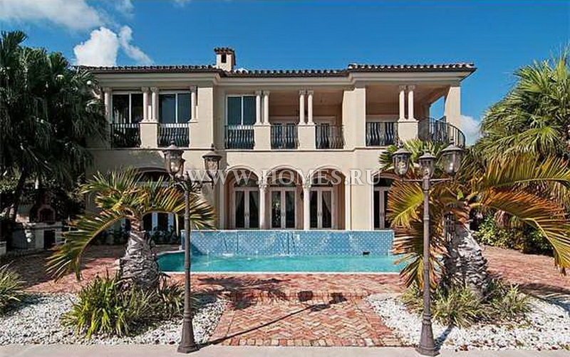 Уникальная вилла в Майами