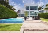 Прекрасный современный особняк в Майами, Флорида