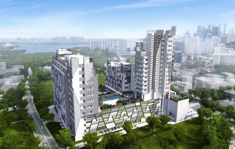 Стильные офисы в Сингапуре