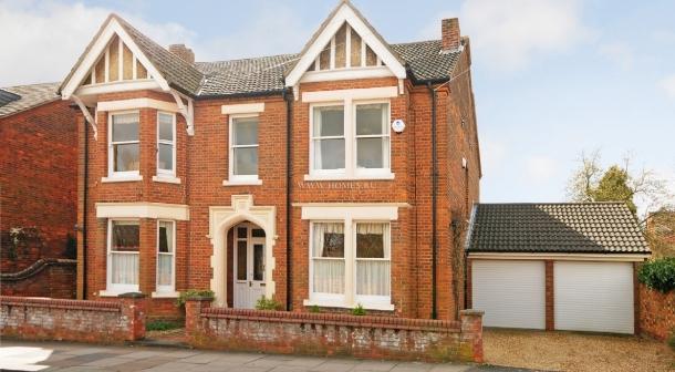 Дом в викторианском стиле, Бедфорд, Великобритания