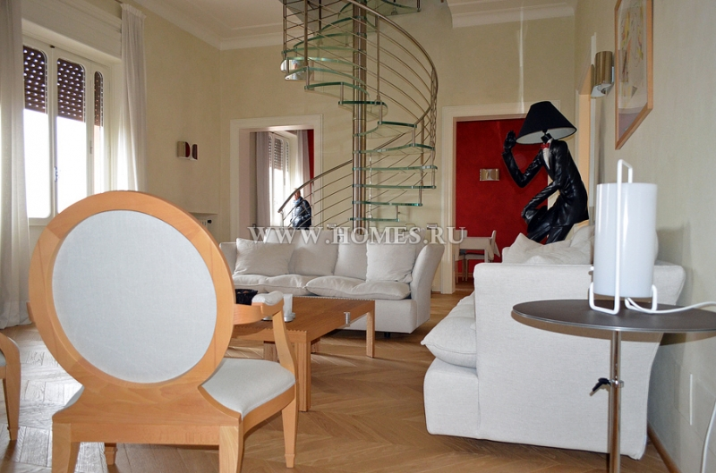 Роскошные апартаменты в Риме