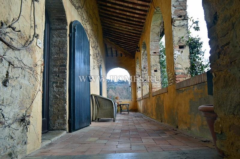 Симпатичный особняк в Тоскане