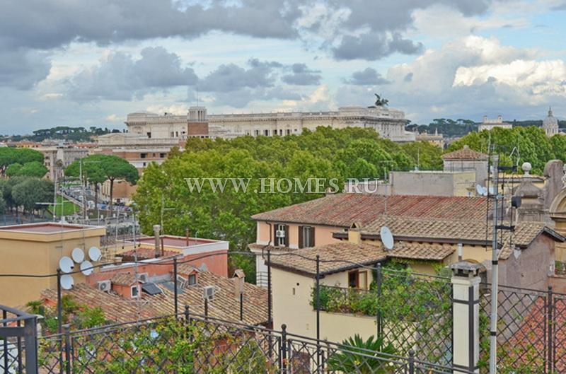 Великолепный пентхаус в центре Рима