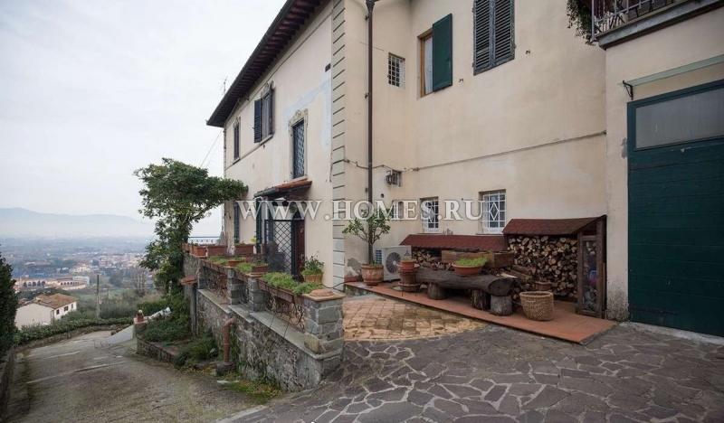 Флоренция, новая вилла на холме с прекрасным видом