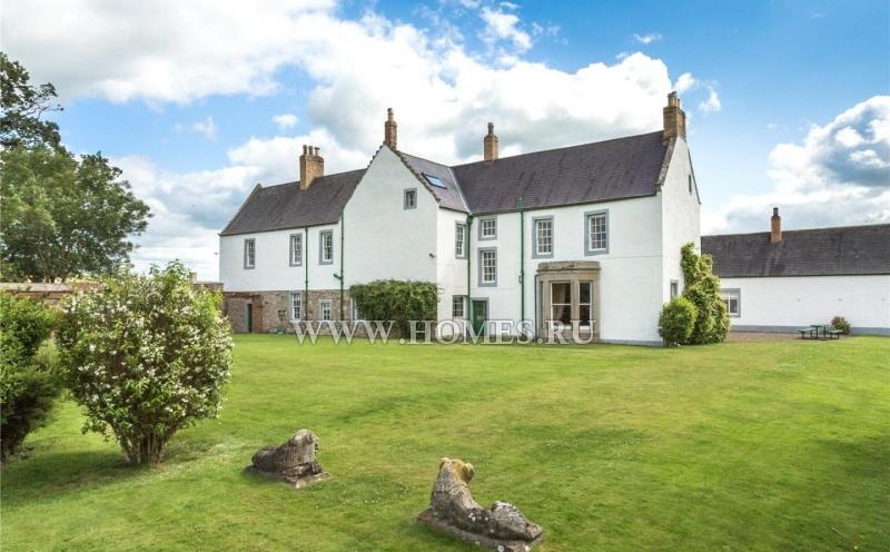 Очаровательный загородный дом в Нортумберленде