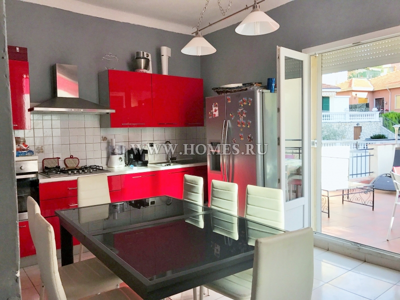 Сан – Ремо, апартамент с отличной мебелью