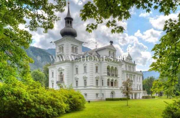 Великолепный замок под Зальцбургом