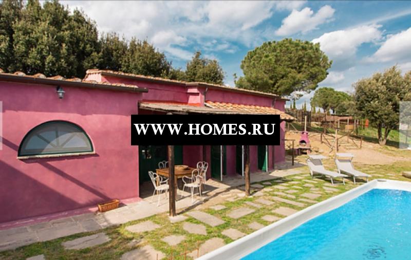 Уникальный дом в Тоскане