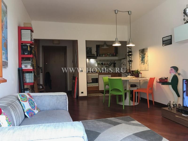 Сан – Ремо, красивый апартамент с небольшим садом